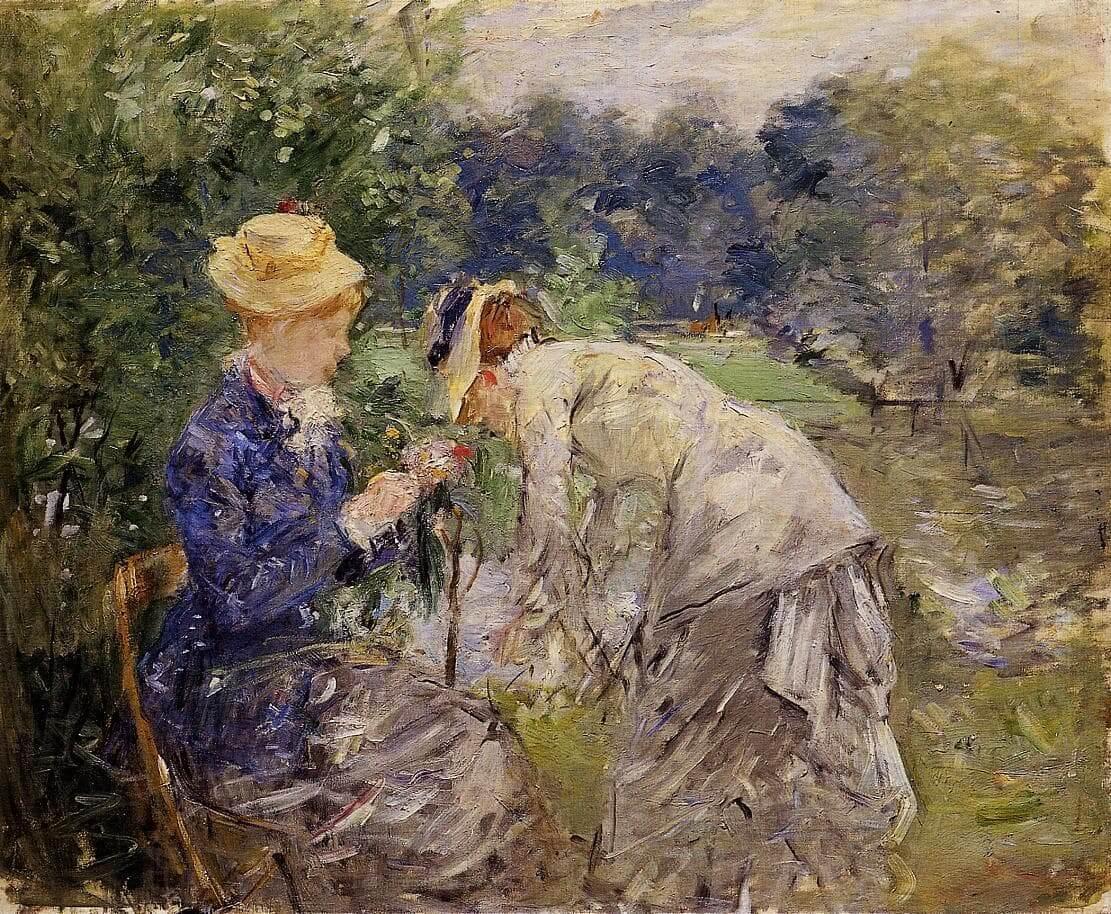 """V Bois de Boulogne"" od Berthe Morisot"